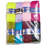 Pack of Crochet and Knitting Yarns 0312