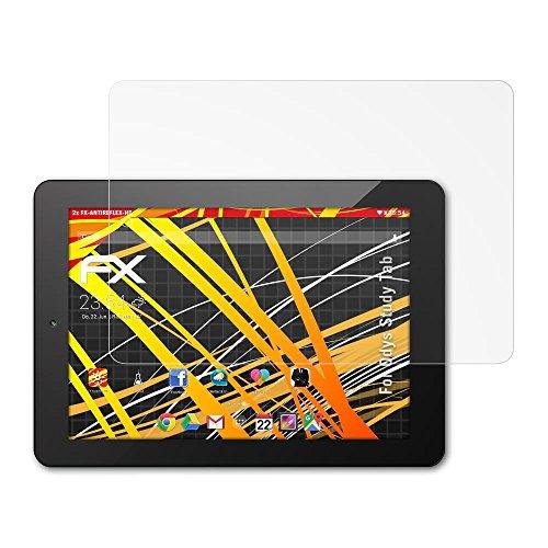 atFolix Schutzfolie kompatibel mit Odys Study Tab Bildschirmschutzfolie, HD-Entspiegelung FX Folie (2X)