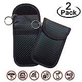 EasyULT Rfid Keyless Go Schutz Autoschlüssel[2 Pack],Rfid Funkschlüssel Abschirmung Schlüsseltasche, Strahlenschutz Tasche, Signal Blocker, Schlüsseletui Schutzhülle Car Key...