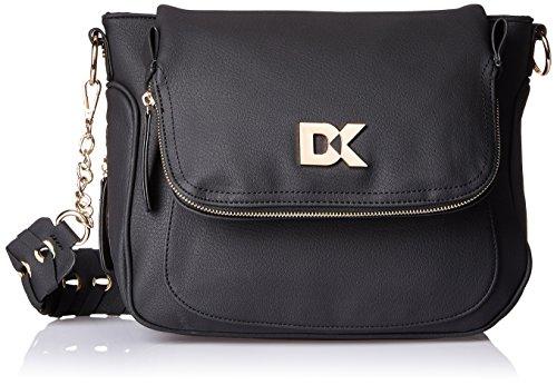 Diana Korr Women's Sling Bag (Black) (DK69SBLK)