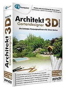 architekt 3d x8 gartendesigner software. Black Bedroom Furniture Sets. Home Design Ideas