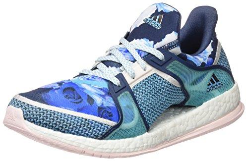 Da Adidas Minerale Scarpe Aumentare X Blu Alone blu Rosa Ginnastica Puri Tr W Formazione Donna Lucido 1Y1pw
