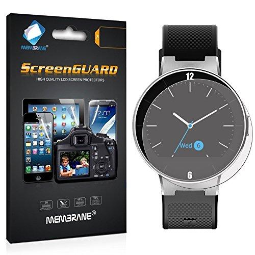 Membrane 3 x Pellicola Protettiva Compatibile con Alcatel One Touch Watch - Trasparente