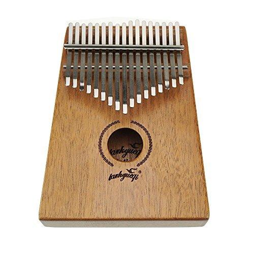17tasti in mogano Kalimba africano piano finger Percussion tastiera portatile strumento musicale chiave C