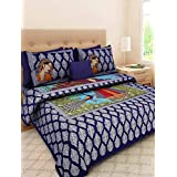 Cottonhandicool Shop Jaipuri Cotton Rajasthani Double Bedsheet With 2 Pillow Cover
