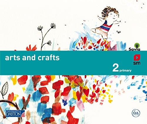 Arts and crafts. 2 Primary. Savia - 9788415743644 por Rita Noguera Ricardi