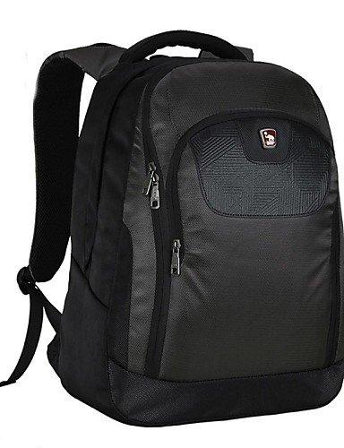 ZQ OIWAS Herren Nylon und Terylen 29L Laptop Rucksack Tasche für 38,1cm Laptop - dunkelgrün
