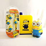 Shopkooky Premium Minion Character Combo Pack Includes Stylish And Attractive Wrist Watch, Piggy Bank & Junior A5 Bottle For Kids Stylish Pair Perfect For Gifting Purpose Return Gift Birthday Gifts Online