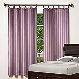 SMALL PURPLE STRIP LOOP Windew curtains ...