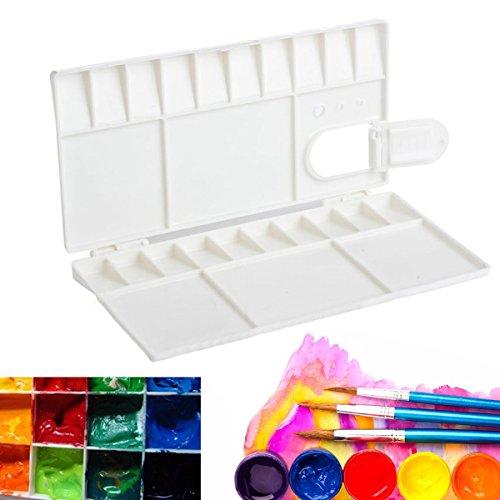 25 Mischpalette Malerei Aquarell Kunststofffarbe Palette