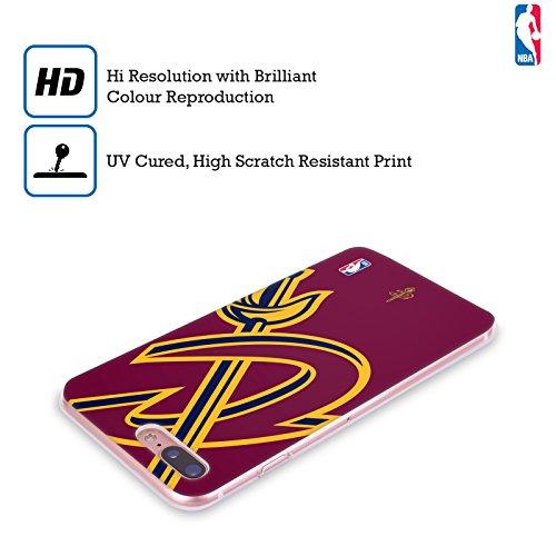 Ufficiale NBA Camouflage Digitale Cleveland Cavaliers Cover Morbida In Gel Per Apple iPhone 6 / 6s Icona Oversize