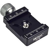 MENGS® DC de 38Pinza para cámara zapata rápida ajustable sólida carcasa de aluminio compatible con RRS/Arca-swiss/Kirk/Wimberley, Markins, Sunwayfoto/Kangrinpoche/Benro, Sirui etc
