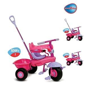SmarTrike Uno Pink Smart Trike Babies Children Kids Stroller Ride-On Tricycle