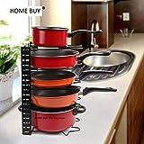 Best Pots  Pans - Kitchen Cabinet Pan and Pot Storage Organiser Review