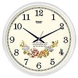 ZHDC® Orologio da parete Soggiorno Ufficio semplice Muto L'orologio Orologio da tasca creativo orologio al quarzo calendario perpetuo Home wall clock ( Colore : #3 , dimensioni : 35*35cm )