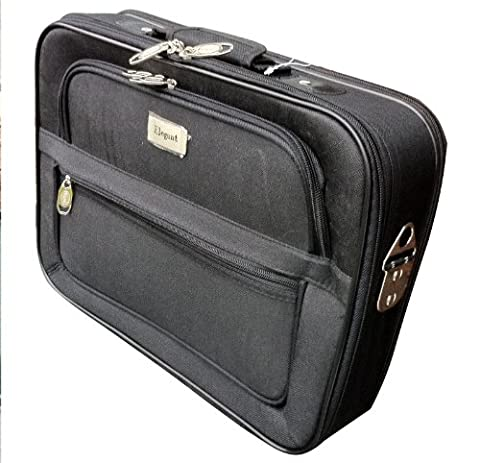 BLACK WIDESCREEN LAPTOP NOTEBOOK BAG CARRY CASE FOR ALL LAPTOPS & LARGE NETBOOKS FROM 14 TO 16 INCHES AND ACER APPLE MAC ASUS SAMSUNG DELL SONY HP TOSHIBA LENOVO PACKARD BELL NET BOOK 14