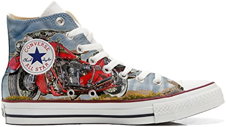 Converse All Star personalisierte Schuhe (Handwerk Produkt) Indiana Motor