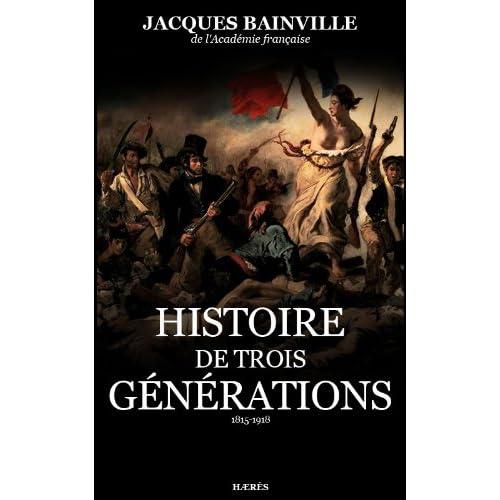 Histoire de Trois générations