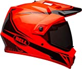 Bell Helme mx-9Adventure MIPS, Taschenlampe orange/schwarz, mittel