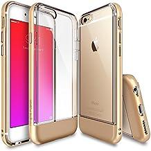 Ringke Fusion Frame - Funda para Apple iPhone 6, color oro