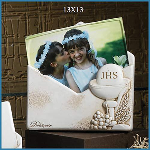 Albalù bomboniere comunione portafoto a forma di lettera con calice