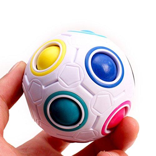ZJL220 Magic Football Cube Puzzle Ball Spielzeug Für Kinder Kinder Pädagogisches Lerngeschenk