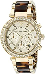 Michaël Kors Women's Quartz Watch Chronograph Display and  Strap MK5688