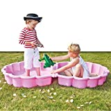 Paradiso Toys 760 -. Sand / water shell pink two-piece, approx 87 x 78 x 20 cm