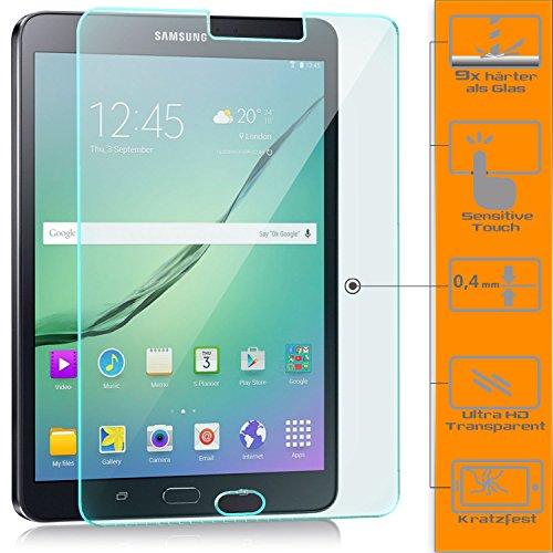 zanasta Displayschutz Folie kompatibel mit Samsung Galaxy Tab S2 9.7 Displayschutzfolie aus gehärtetem Glas Schutzglas Glasfolie Schutzfolie   Klar Transparent Ralph Crystal