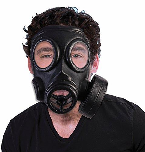 Erwachsene 's bio-hazard 1940er Halloween-Kostüm Gas Maske Gasmaske Kostüm Zubehör (Biohazard Gasmaske)
