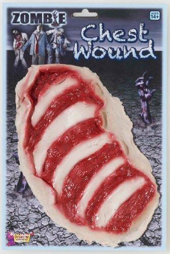 Forum Neuheiten 199218 Zombie Chest Wound Erwachsene