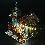 Briksmax-Vecchio-Negozio-dei-Pescatori-Kit-di-Illuminazione-a-Led-Compatibile-con-il-Modello-Lego-21310-Mattoncini-da-Costruzioni-Non-Include-il-Set-Lego
