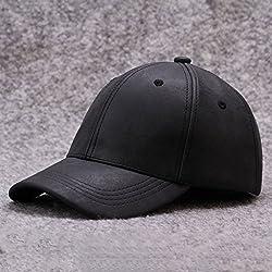 Gorra de beisbol Coreano PU De Cuero De Múltiples De Color Opcional Cap Gorra De Béisbol Sombrero Sombrero ( Color : #4 )
