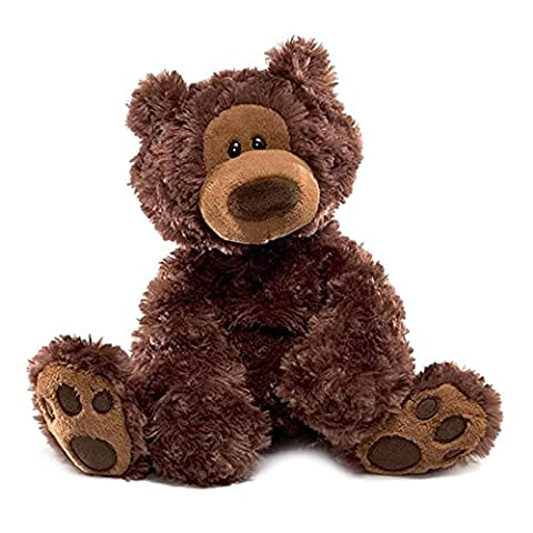 Enesco - 320046 - Philbin Ours Chocolat - 33 cm