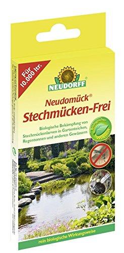 Neudorff Neudomück Stechmücken-frei, 10 Tabletten (Frei-haus-pflanzen)