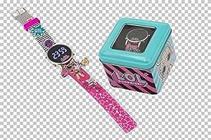 Giochi Preziosi - Reloj Charms LOL Llg39000, Multicolor, 8056379086840