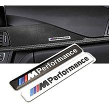 estilo de coches 1 x 85 x 12 mm Motosport M, potencia coche Logo Hood motocicleta emblema adhesivo para BMW E46 E60 E90 E92 F20