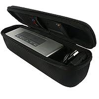 Khanka EVA Dur Cas Voyage Etui Housse Sac Case pour Bose Soundlink Mini 2 / II Bluetooth Portable Wireless Speaker haut-parleur - Fits the Chargeur , Charging Cradle. Fits avec the Bose TPU Doux couverture.