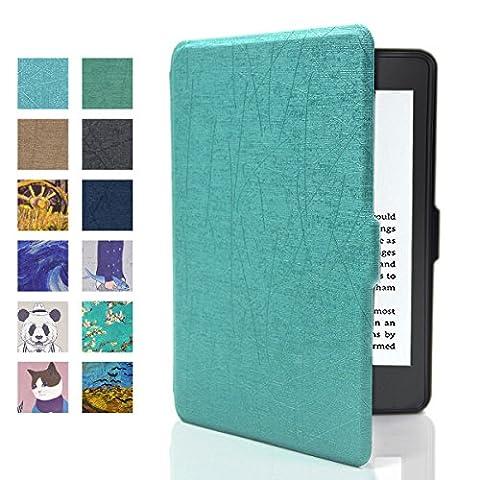 Kindle Hülle, Iitrust Kindle Paperwhite Hülle mit auto Sleep / Wake von Kindle 2012/2013/2015/2016 (Grün)