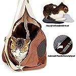 Pet Carrier Backpack Comfort Breathable Travel Tote Shoulder 100% Cotton Sling Bag with Pouch Adjustable Strap For Dog… 9