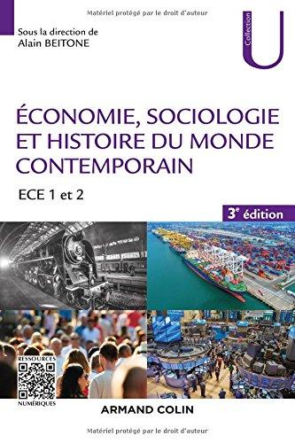 Économie, Sociologie et Histoire du monde contemporain - 3e éd. - ECE 1 et 2
