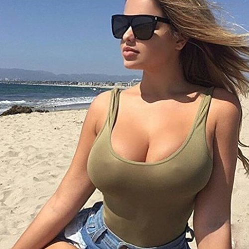 Zokra (TM Square Sonnenbrille Frauen Sunnies Sommer-Art-Sonnenbrillen f¨¹r Damen Female Trend Shades UV400 [Sand schwarz]