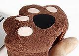 Beheizte USB-Mausunterlage-Handwärmer Maus-Pads Bär Klaue Kaffee - 2