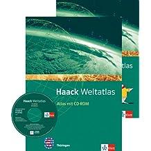 Haack Weltatlas für die Sekundarstufe I / Ausgabe für Thüringen mit CD-ROM und Arbeitsheft Kartenlesen