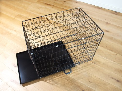 Easipet Dog Puppy XXLarge Black Metal Training Cage Crate 48 6