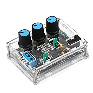 DROK® XR2206 Alta precisione Funzione Signal Generator, fai da te Kit di uscita 1 Hz-1 MHz di frequenza Genera Sine/piazza/triangolo Onda, a frequenza variabile ampiezza ad alta risoluzione