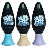Recharge de gel violet magique 3D/bleu/orangé