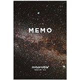Imborrable Vía Láctea - Cuaderno de bolsillo rayado, 144 páginas, A6, 9.5 x 14 cm