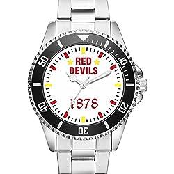 KIESENBERG® Watch - RED DEVILS 1878 - 6011