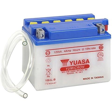 Batería Yuasa YB4L de B, 12V/4Ah (Dimensiones: 121x 71x 93)